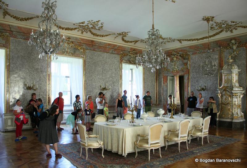Castelul Valtice - Sufrageria