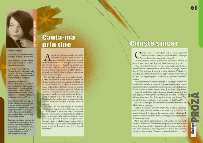 Eseuri de Corina Gheorgheza