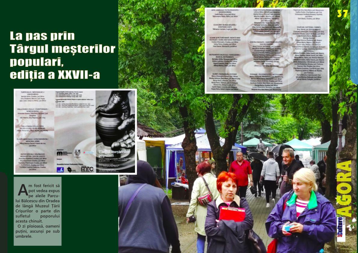 ALTculture 07/2020 – La pas prin Târgul meșterilor populari, ediția a XXVII-a