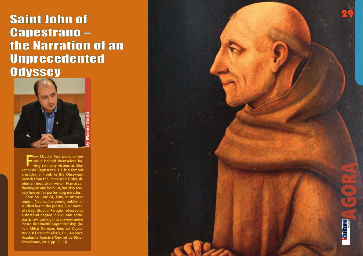 ALTculture 09/2020 – Saint John of Capestrano – Narration of an Unprecedented Odyssey