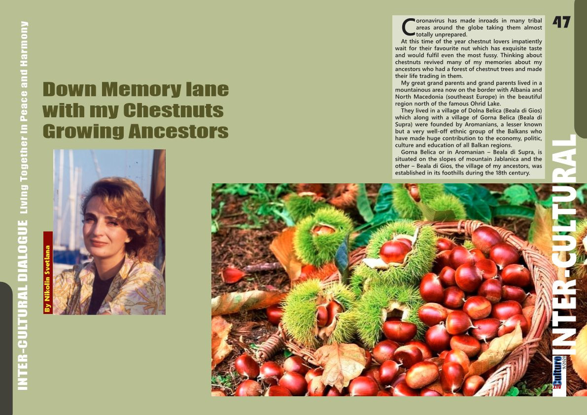 ALTculture 09/2020 – Down Memory lane with my Chestnuts Growing Ancestors