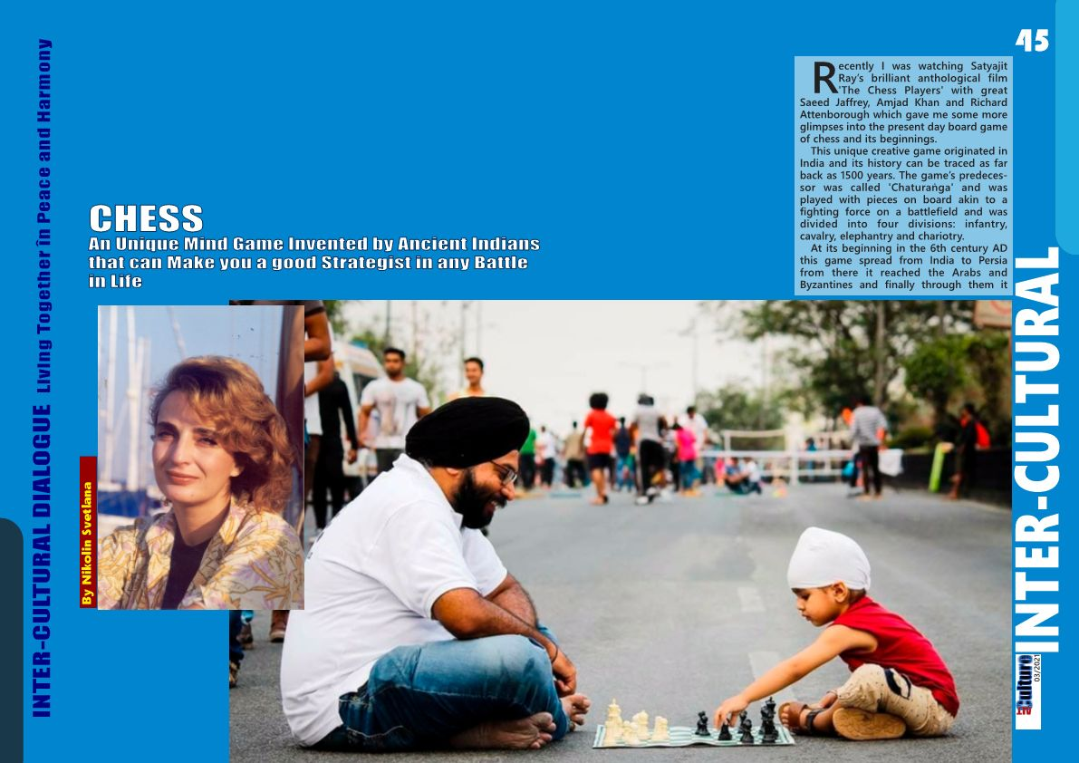 CHESS – An Unique Mind Game Invented by Ancient Indians that can Make you a good Strategist in any Battle in Life
