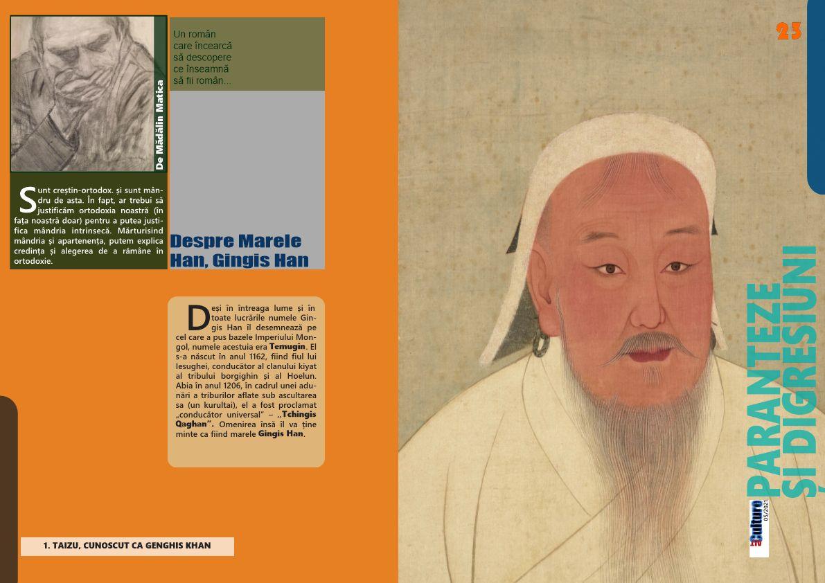 Despre Marele Han, Gingis Han