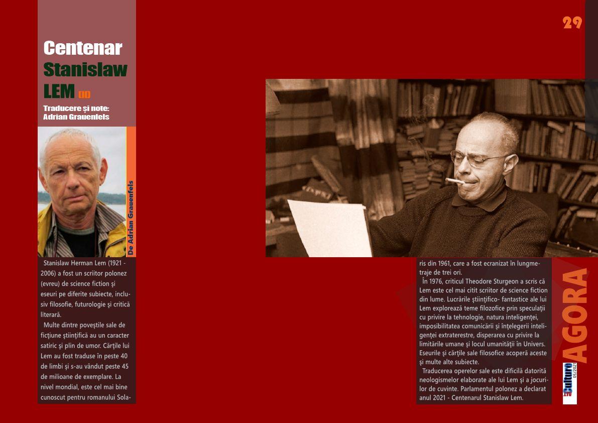 Centenar Stanislaw LEM (II)