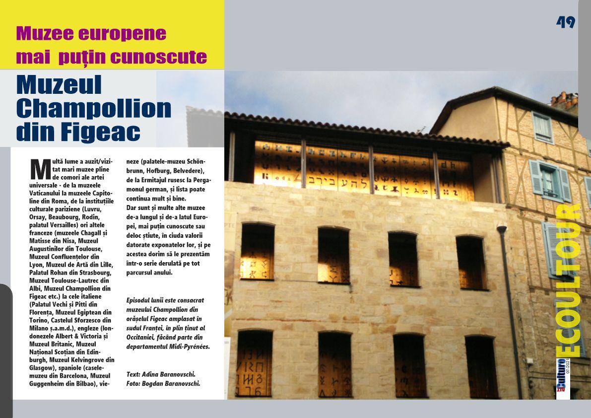 Muzeul Champollion din Figeac