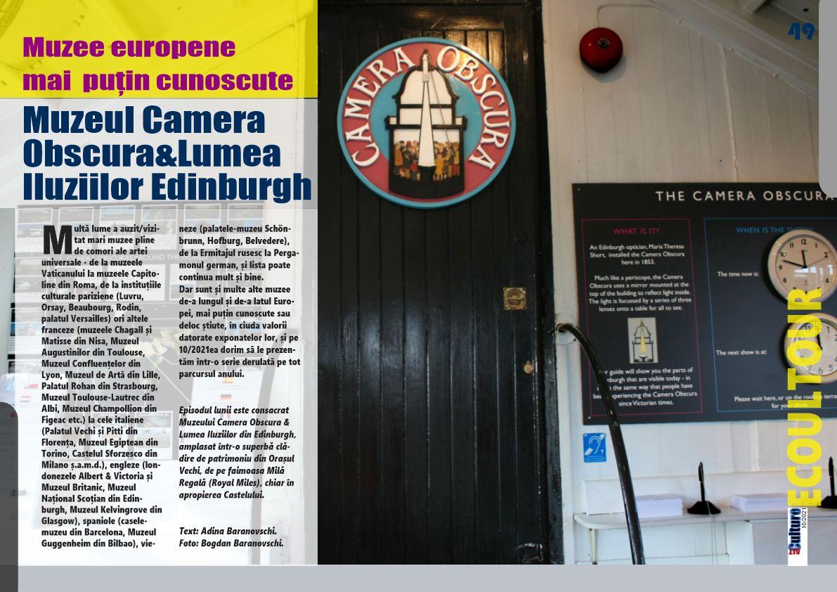 Muzeul Camera Obscura&Lumea Iluziilor